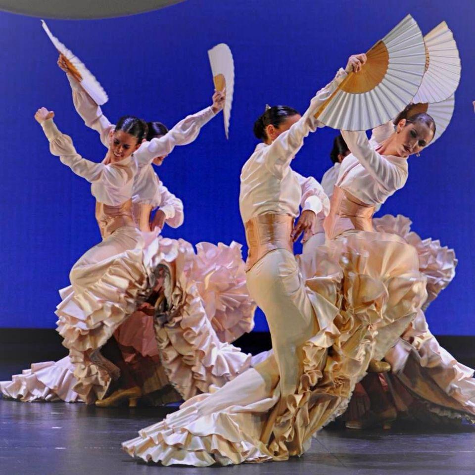 Ballet Nacional De España Bailaoras De Flamenco Arte Flamenco Danza