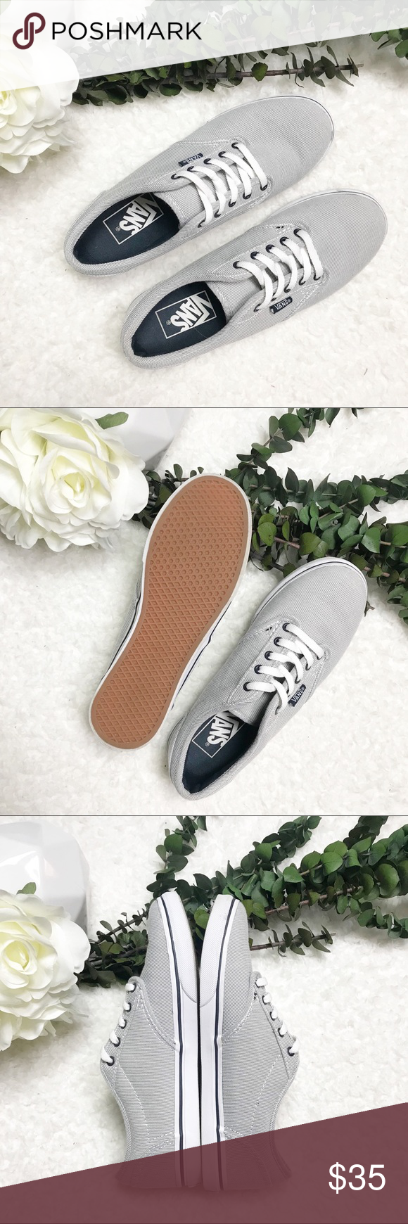 NWT   Vans   Atwood Low Canvas Sneakers   Sneakers, Shoe features ...