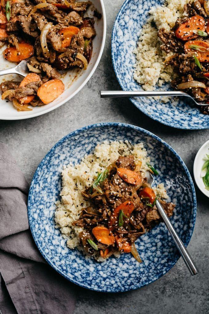 Whole30 Bulgogi (Healthy Korean Beef BBQ) | Recipe ...