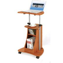 Walmart: Rolling Laptop Cart with Storage, Multiple Finishes