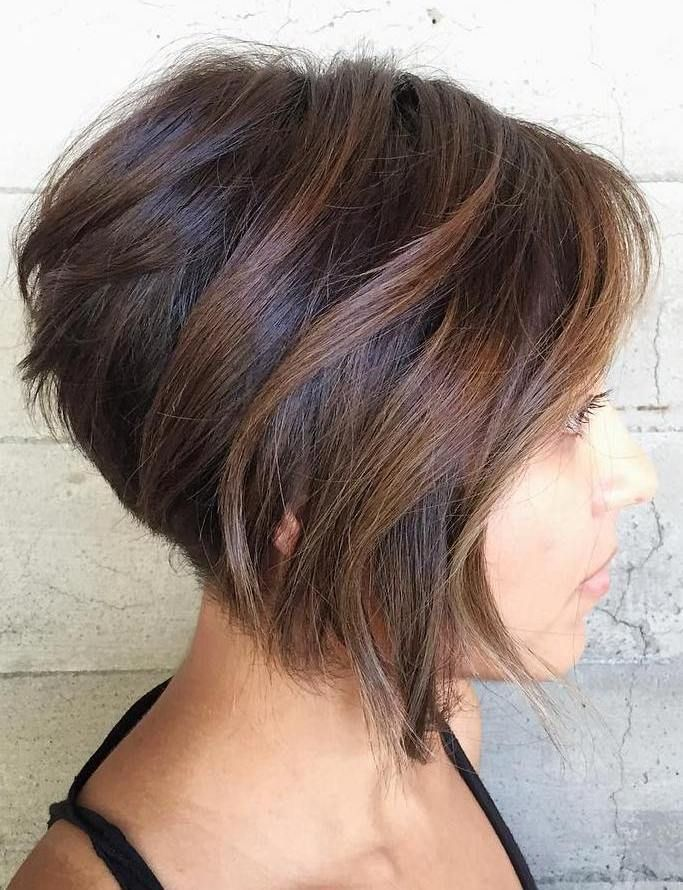 Easy Bob Hairstyles Pleasing 60 Cute And Easytostyle Short Layered Hairstyles  Balayage