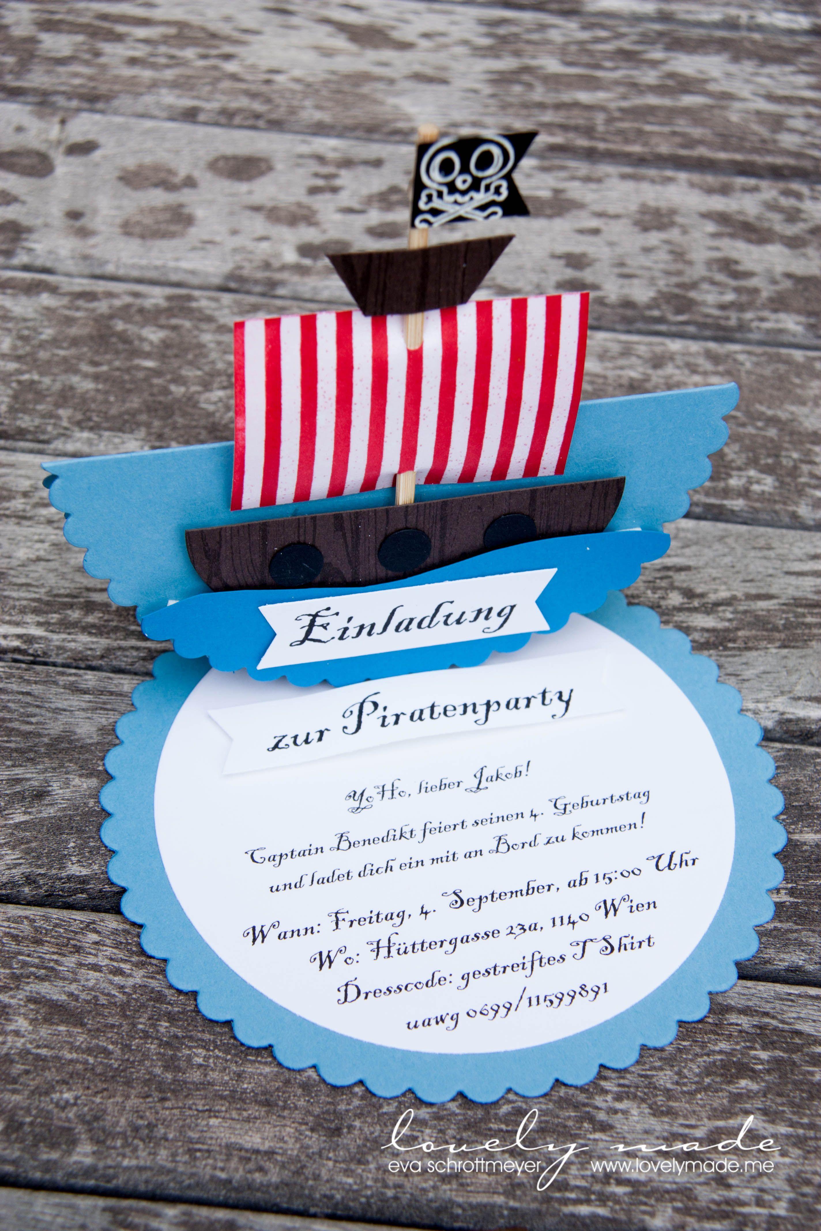 einladung piraten kindergeburtstag einladung pinterest. Black Bedroom Furniture Sets. Home Design Ideas