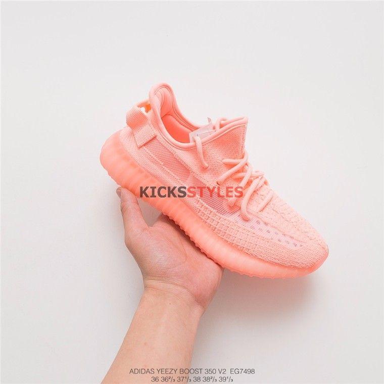 pink yeezys 7