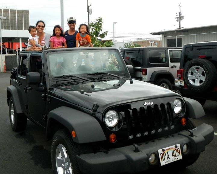 Renting A 4 Door Jeep Wrangler Unlimited In Hawaii From Discount Hawaii Car  Rental.