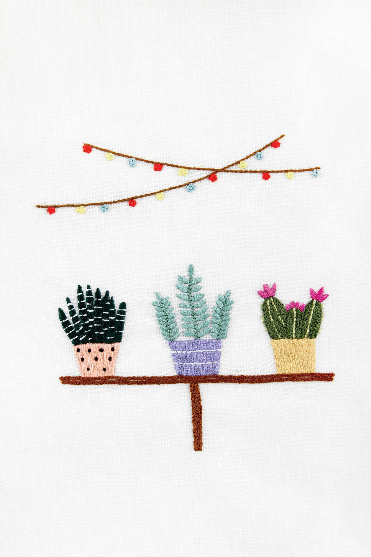 Baobap Dentro del invernadero - diseño   bordado   Pinterest ...