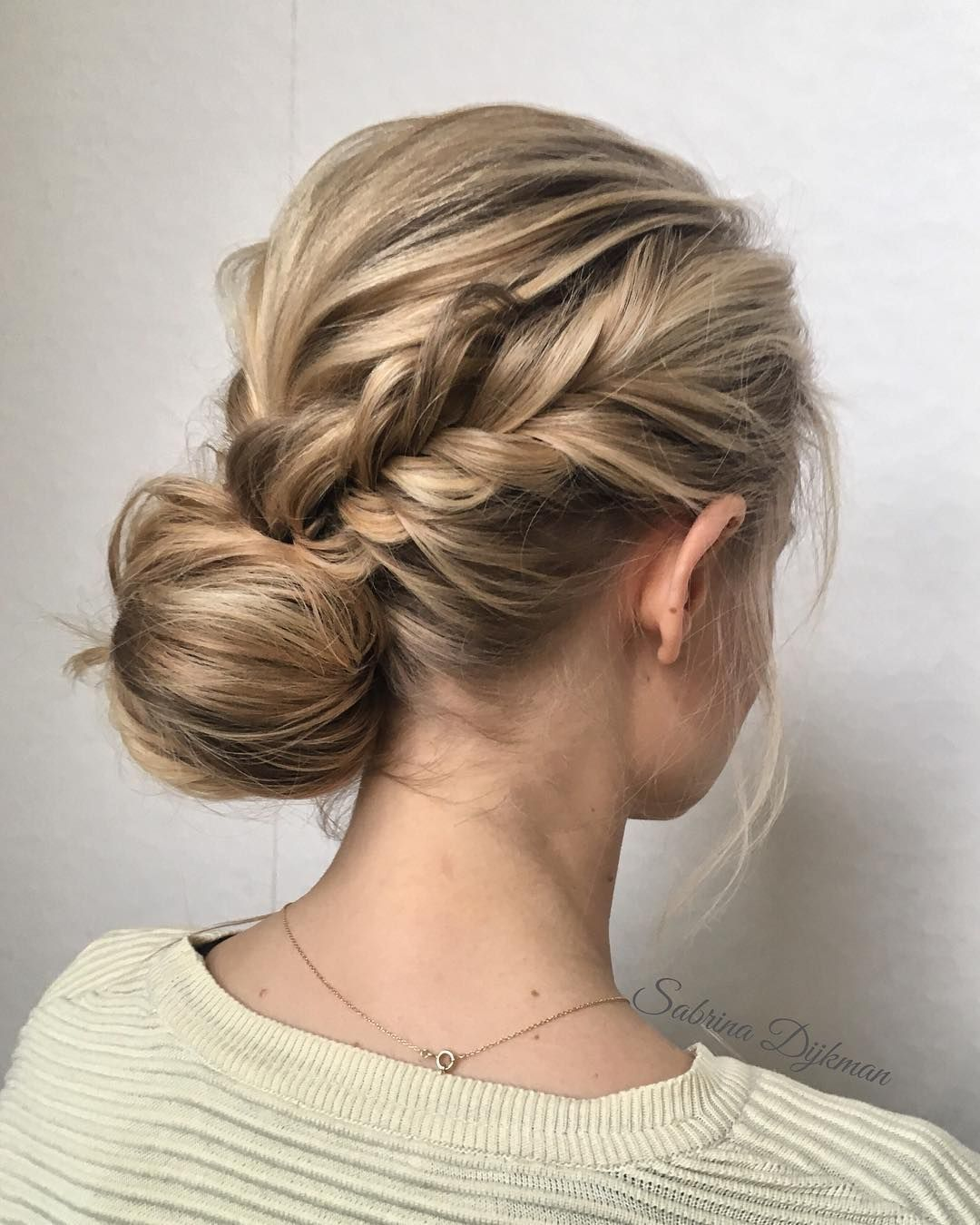 side updo for any bride looking for a unique style | hair