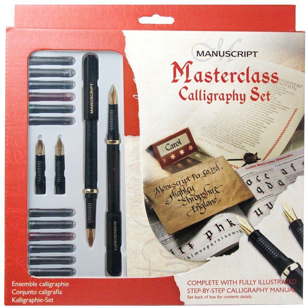Manuscript Masterclass Kalligrafie Geschenkset: Amazon.de: Bürobedarf & Schreibwaren
