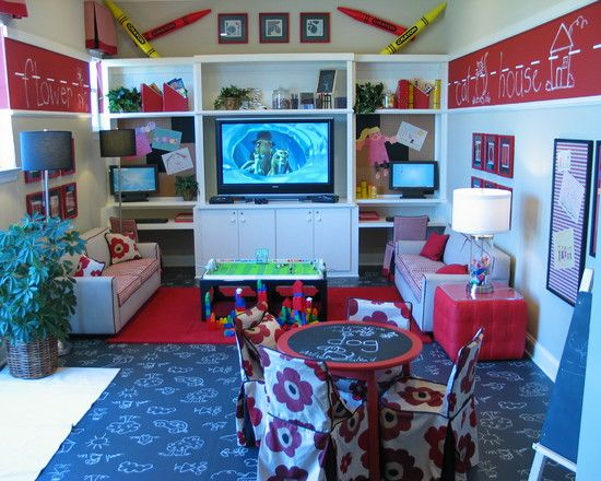 Play Room Design, Pictures, Remodel, Decor And Ideas This Would Be Great For