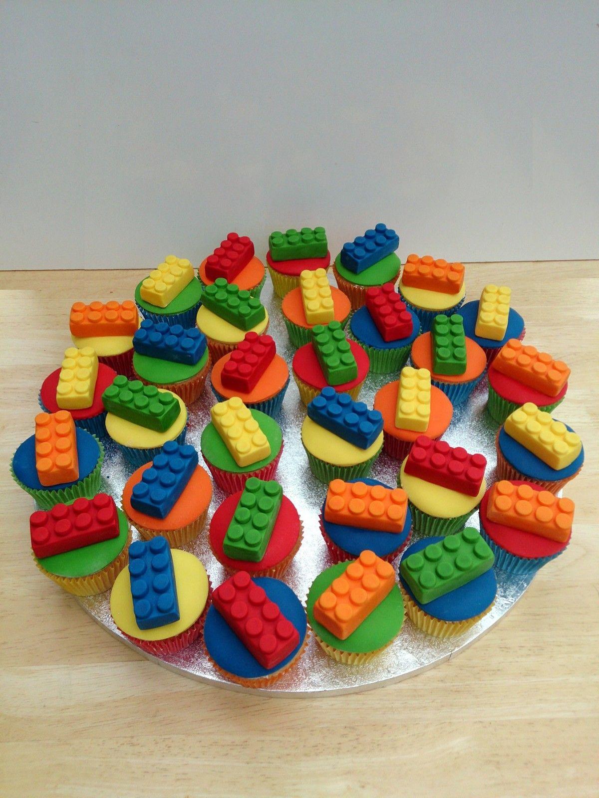 Lego Cupcakes Walmart Party Ideas Lego Cupcakes
