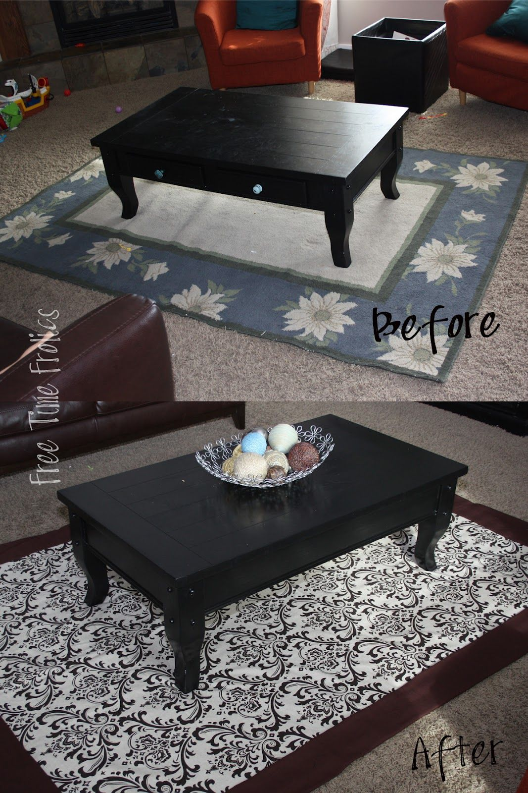 25 Spring Projects to Make...Slip cover for rug