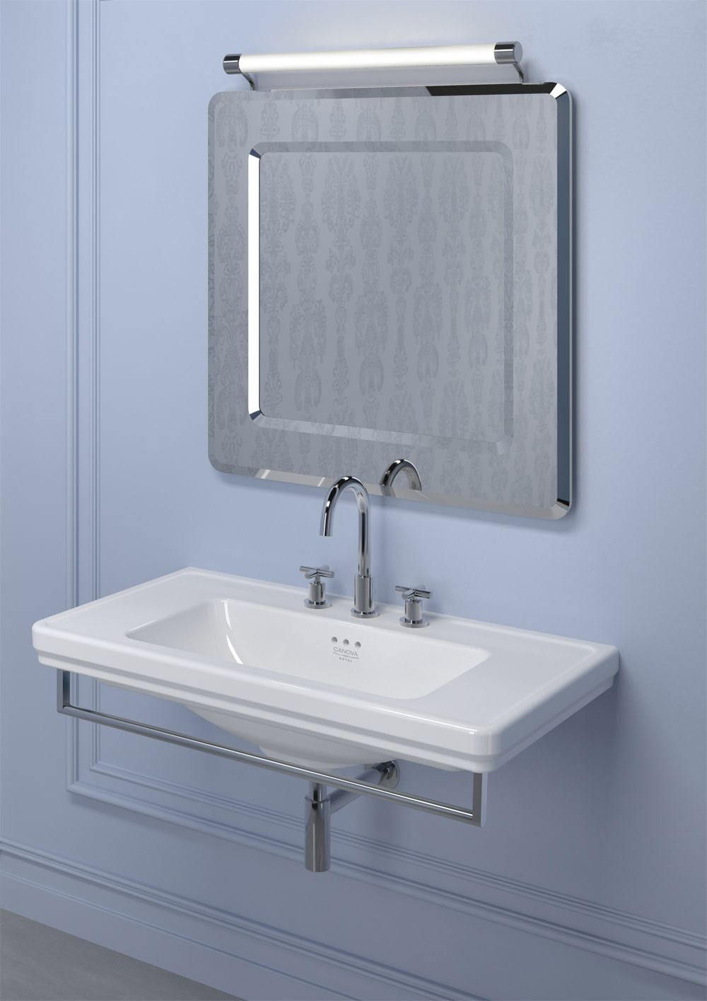Standard toilet seat dimensions  Canova Royal  washbasin has a regular shape wide dimensions and