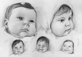 Cara De Bebe Dibujo A Lapiz Buscar Con Google Dibujo De Bebe Retrato Lapiz Dibujos