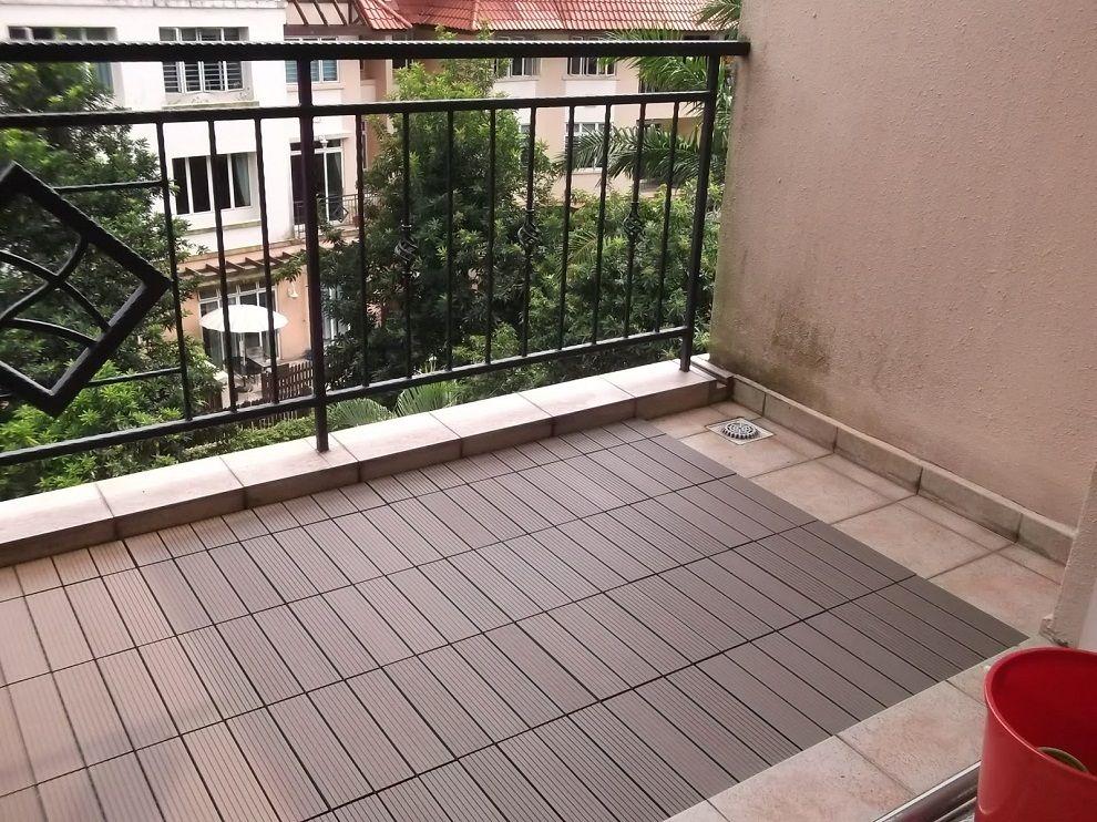 Image of IKEA Deck Tiles Ideas Balkon