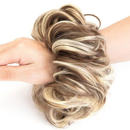 Florata Messy Hair Bun Updo Scrunchies Extension Ponytail Piece - Walmart.com