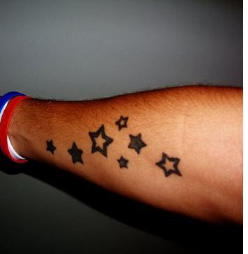 Stars Jpg 356 364 Forearm Tattoo Men Forearm Tattoos Unique Forearm Tattoos