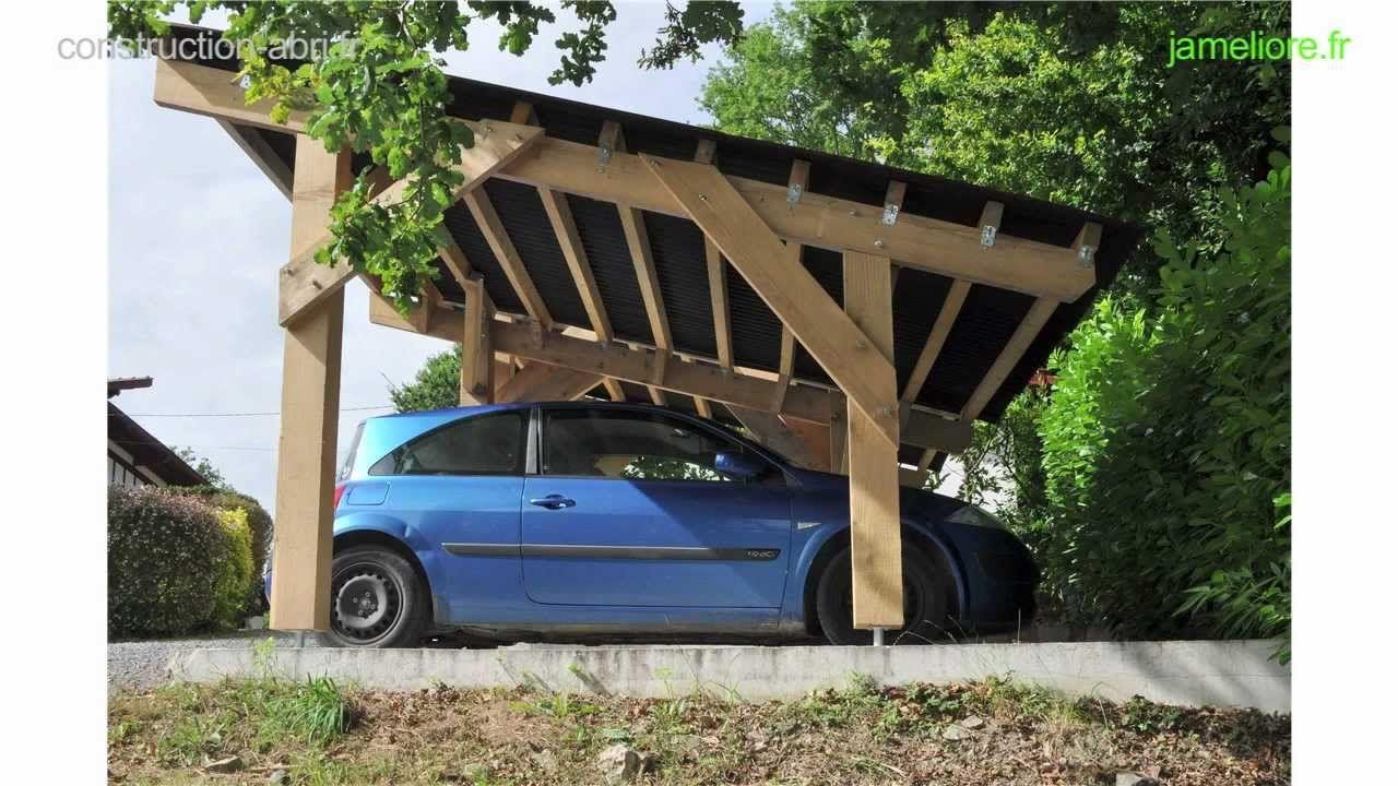 construction abri voiture bois pinterest car ports. Black Bedroom Furniture Sets. Home Design Ideas
