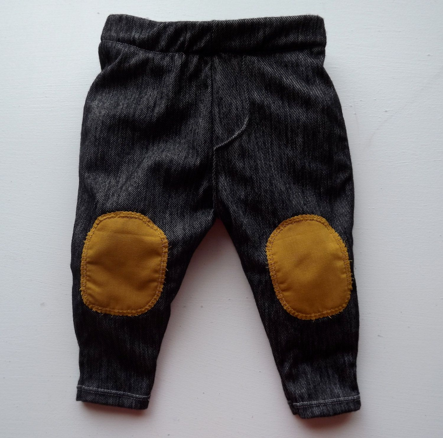 Baby skinny jeans with knee patches.... lol how cute (With ...Jem And Scout Soap Figures