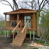 Small Fishing Cabin On Stilts Plans Fishing Cabin Cabin House Styles