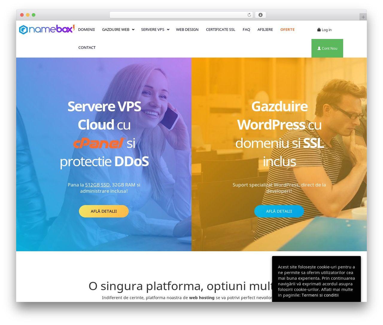 Namebox Best Wordpress Theme Namebox Ro In 2020 Best Wordpress Themes Wordpress Theme Wordpress