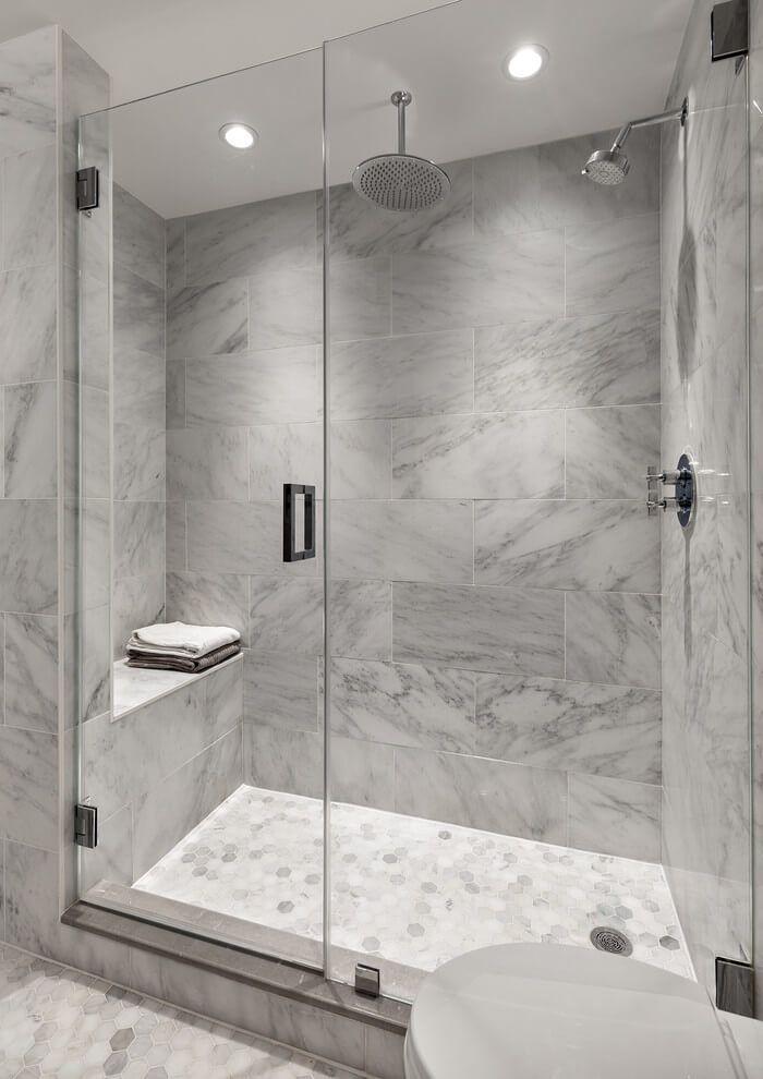 26 Gray Bathroom Ideas Worthy Of Your Experiments In 2020 White Bathroom Tiles Grey Bathroom Tiles