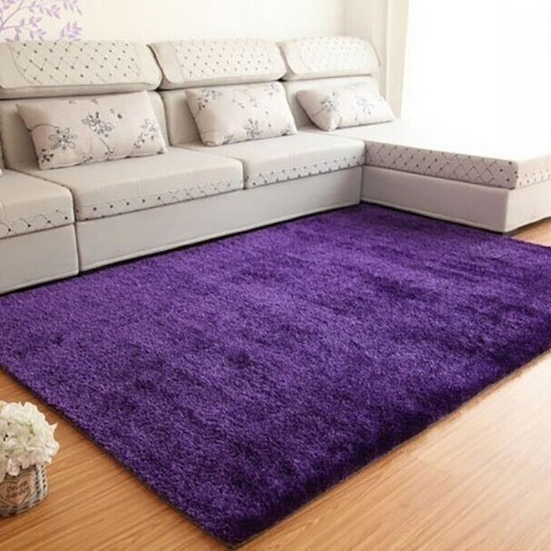 Free Shipping Fluffy Rugs Anti-Skid Shaggy Area Rugs for ...
