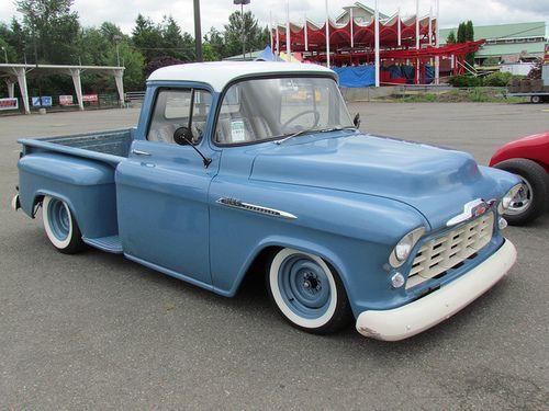 1956 Chevrolet Pickup Truck Chevy Pickup Trucks 57 Chevy Trucks
