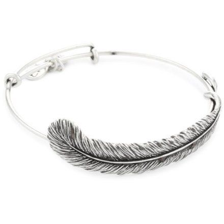 Plume Feather Bangle