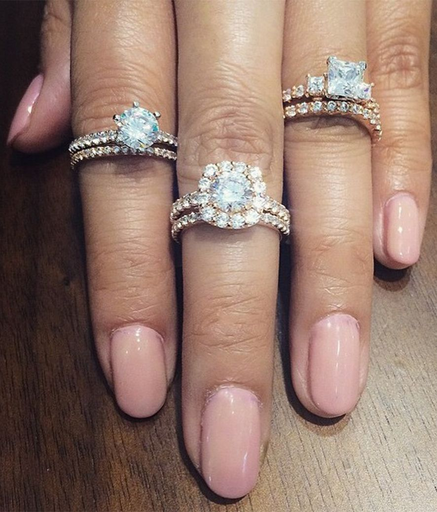 Gabriel & Co. has dozens of selections when it comes to finding your dream engagement ring and wedding band. Interested in a rose gold engagement ring with a matching wedding band? Discover them on our website!