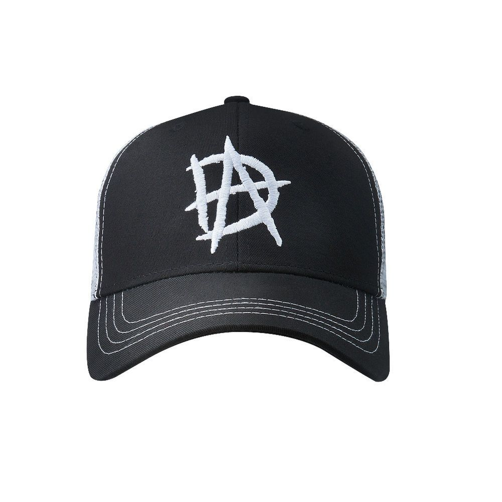 44dcdb2ac4a Official WWE Authentic Dean Ambrose Black White Baseball Hat One Size  WWE   WWEShop