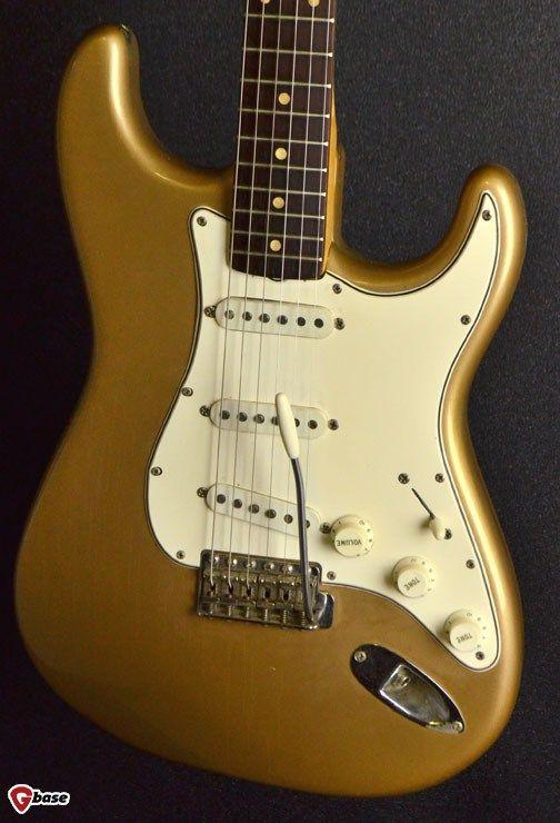 Fender Standard Stratocaster 2006 2017 Reverb >> 1960 Fender Stratocaster Firemist Gold Guitars Electric Solid