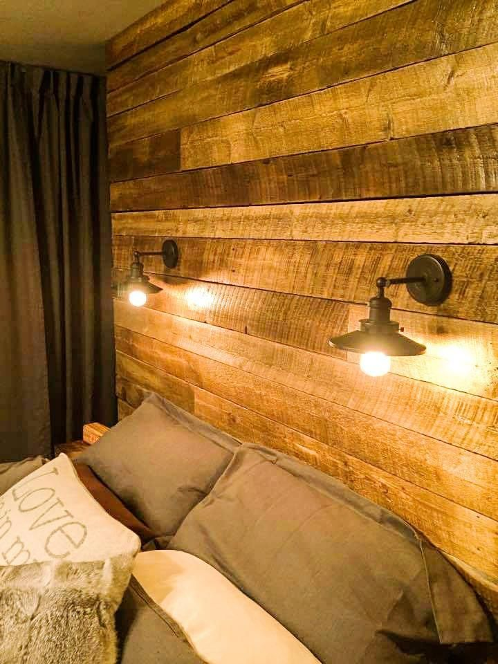Cabeceros de palet camas de palets pinterest - Palet de madera decoracion ...