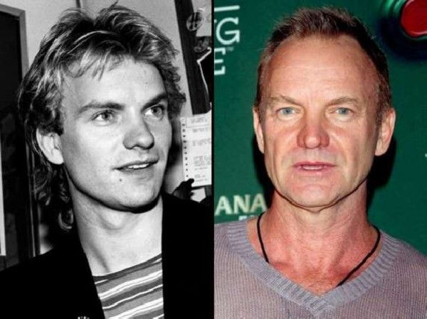 Libra Sting With Images Celebrities Then And Now Stars Then