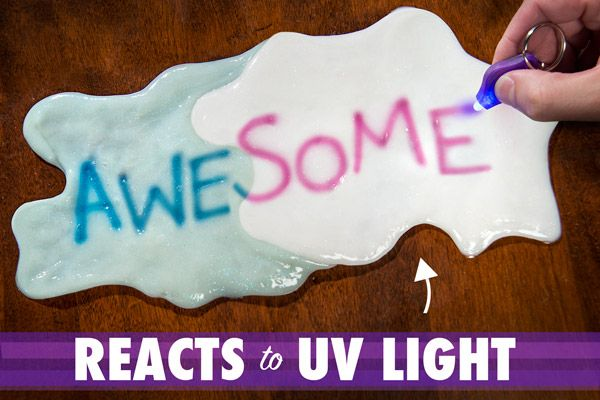 At Vat19.com: Crazy Aaron's Thinking Putty // UV Reactive Phantoms // Changes color under ultraviolet light {Ultraviolet light keychain included!}