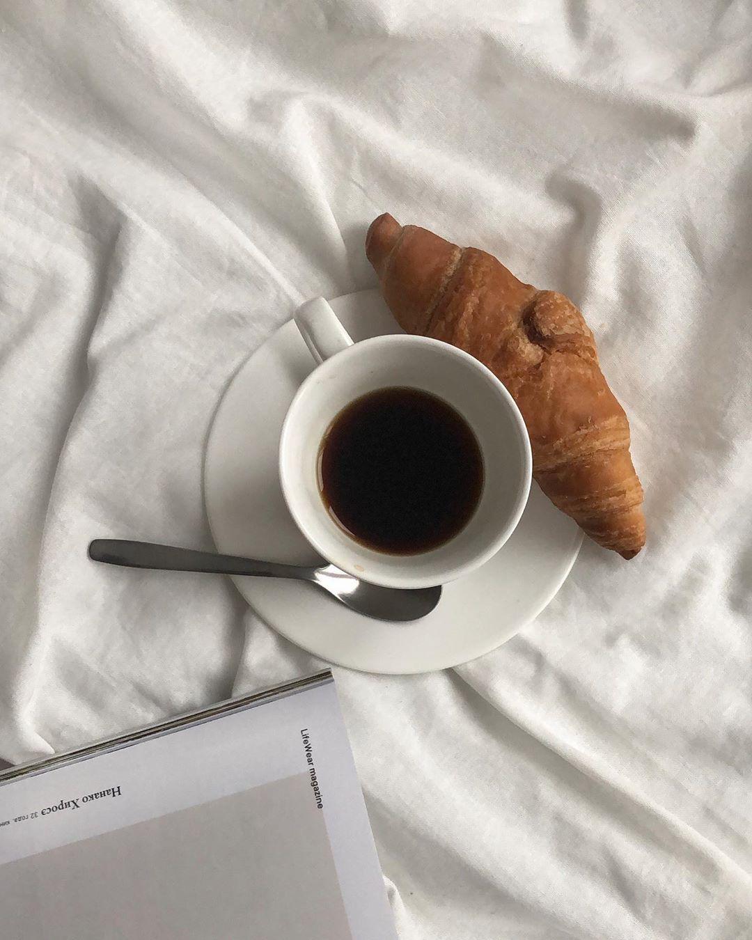 капля кофе в инстаграм