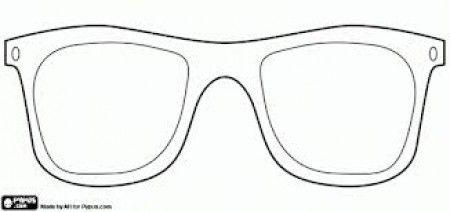 Molde De Oculos Pesquisa Google Festa Tropical Oculos Desenho