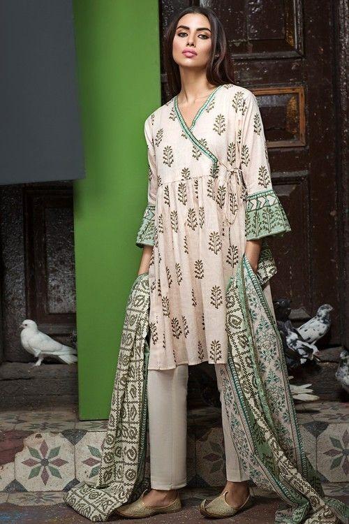 Libasco | Khaadi 2 Piece Stitched Printed Lawn Suit - L17108-B ...