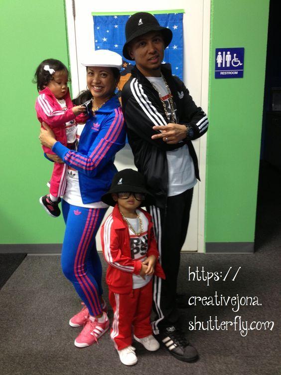 Halloween Family Costume Breakdancer Bboy Adidas Run DMC
