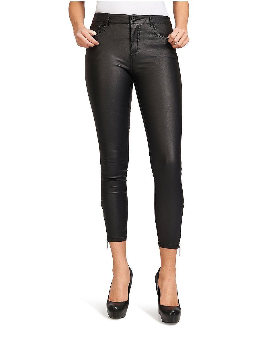 Royal - Skinny-Jeans mit Reißverschluss am Knöchel - Schwarz Only Online Ansehen Verkauf Niedrig Versandkosten Billige Angebote Mehrfarbig Billig Klassisch uJajNO