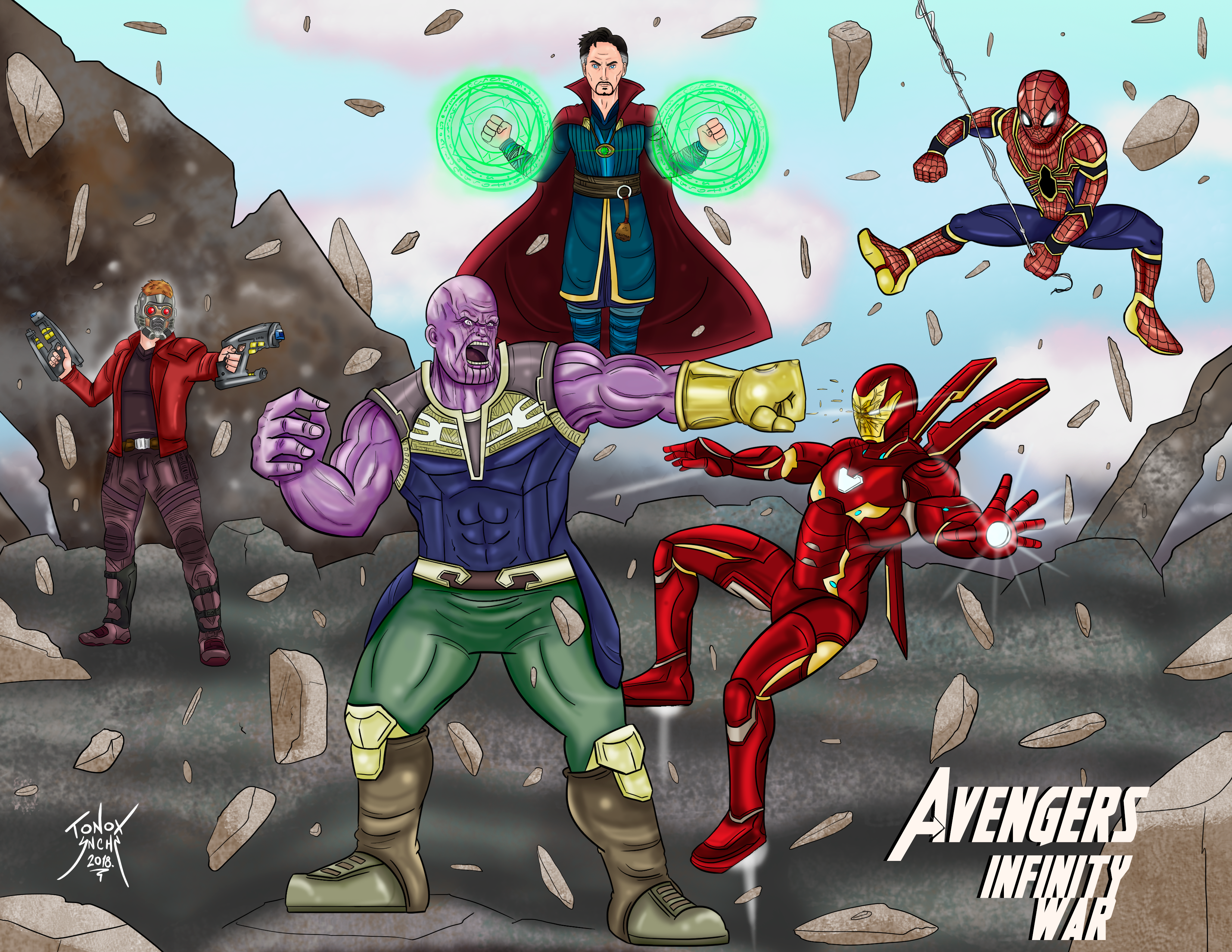 Meilleur De Dessin à Imprimer Des Avengers