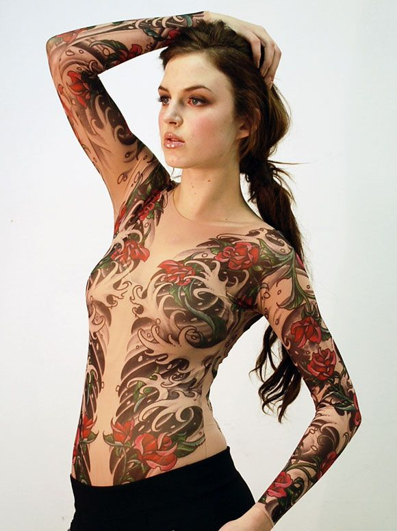 Tattooed clothing | Style for Me & Him | Pinterest