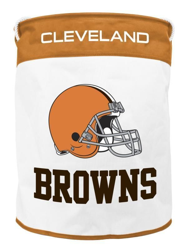CLEVELAND BROWNS CANVAS LAUNDRY BASKET WITH ROPE HANDLES FROM DUCK - Equipment Bill Of Sale