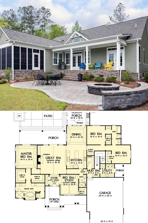 27+ Single level farmhouse plans ideas in 2021