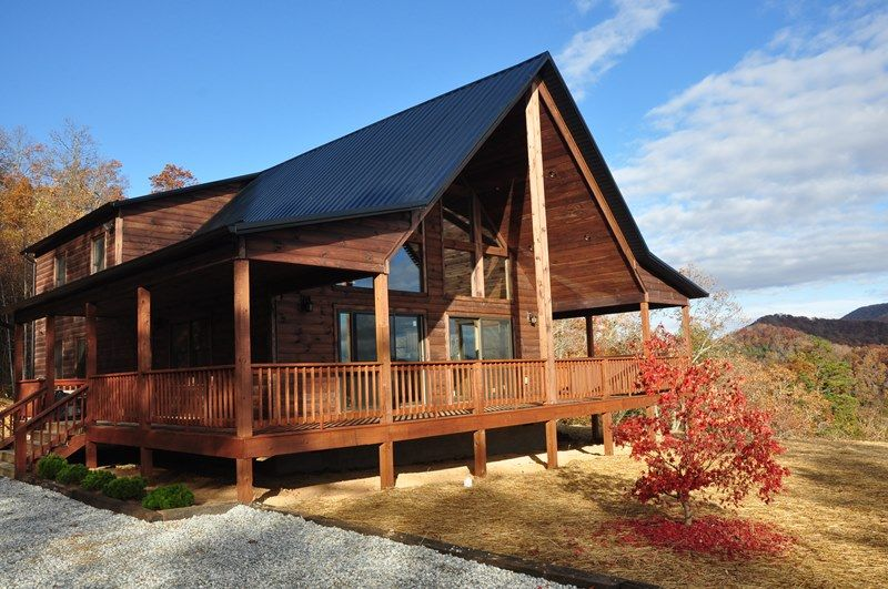 A Walk In The Clouds Log Cabin In Bryson City Nc Bryson City Cabin Rentals Cabin Bryson City Cabins