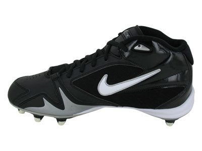 Amazon.com | Nike Alpha Pro 3/4 D Men's Football Cleat Black/