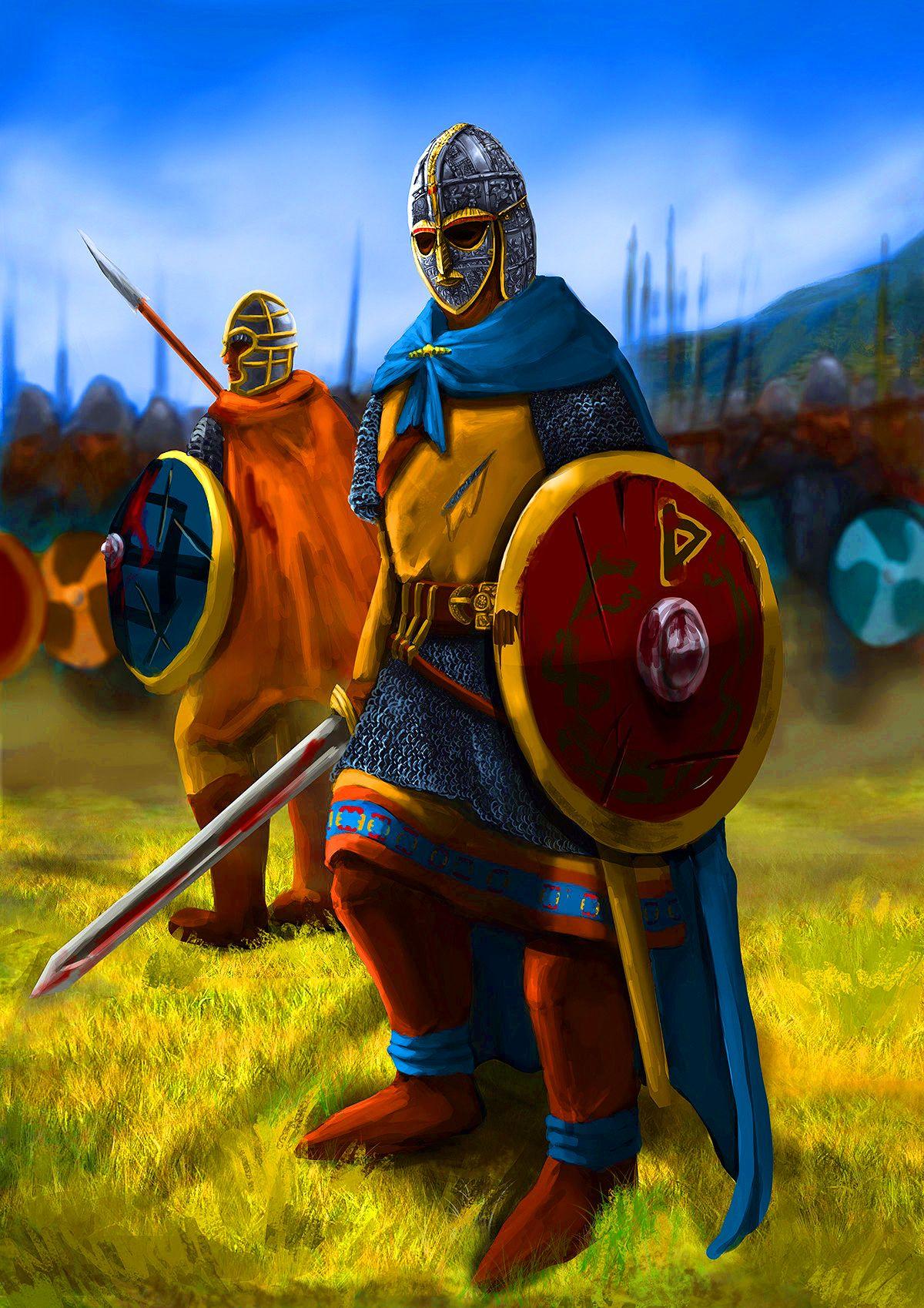 Late Saxon Heavy Swordsmen