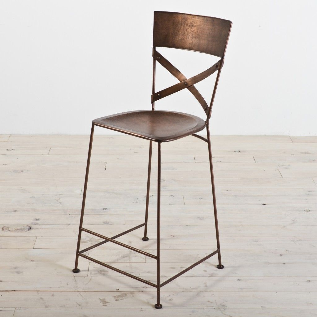 CG Sparks Jabalpur Counter Stool Color Copper