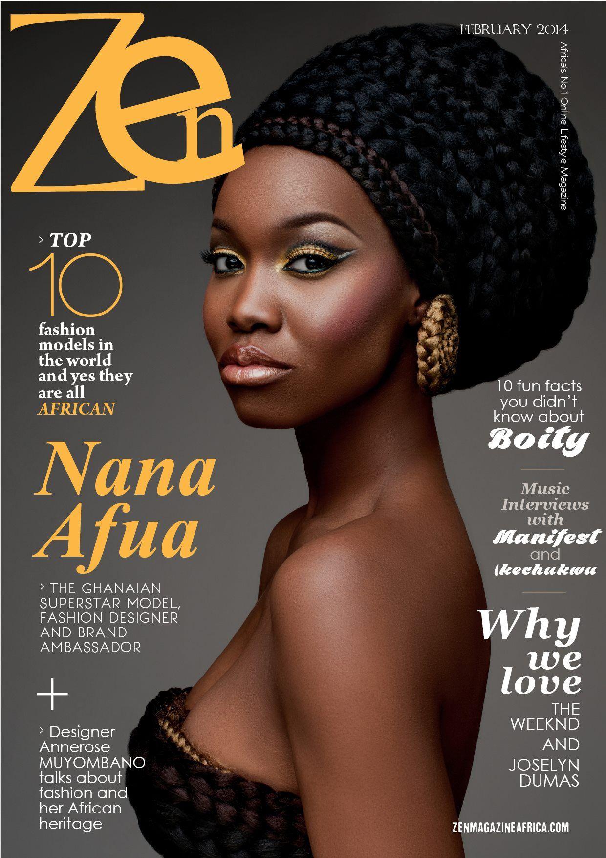 Zen Magazine cover Hair Style Pinterest