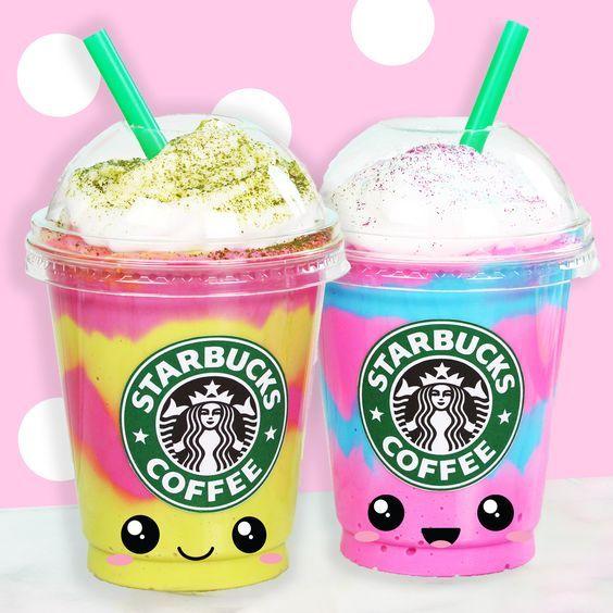 Starbucks Unicorn Frappuccino Drawing
