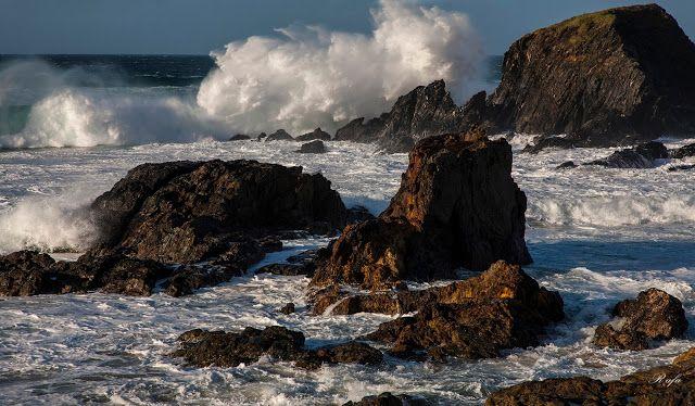 Atrapados por la imagen: La fuerza del mar.