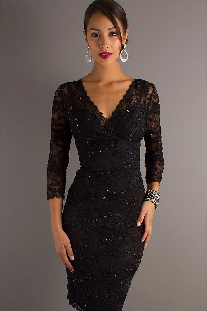 Fabulous Reasons to Wear the Black Dress to the Wedding